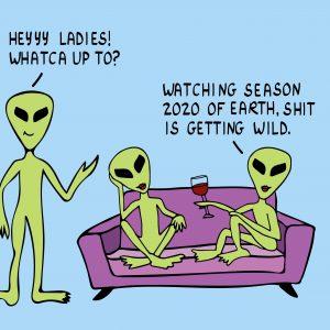 funny coronavirus meme, alien coronavirus meme