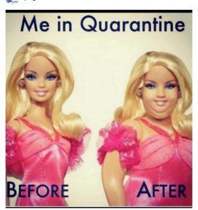 funny coronavirus meme, barbie coronavirus meme, fat coronavirus meme
