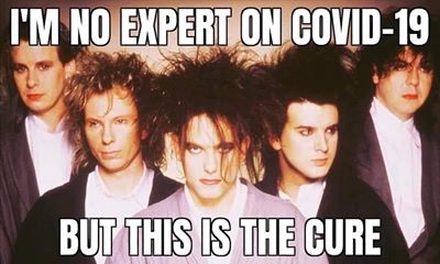 funny coronavirus meme, the cure coronavirus meme