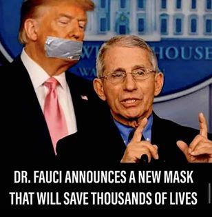 funny coronavirus meme, dr. fauci coronavirus meme, trump coronavirus meme