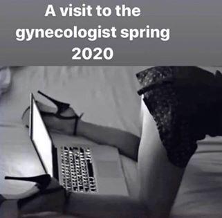 funny coronavirus meme, gynecologist coronavirus meme
