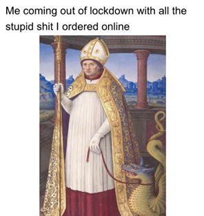 funny coronavirus meme, catholic coronavirus meme, pope coronavirus meme