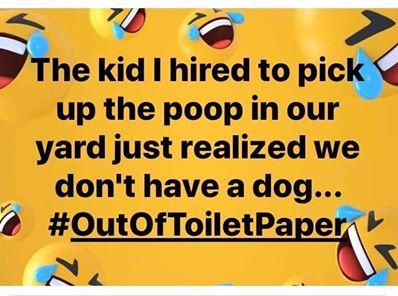funny coronavirus meme, toilet paper coronavirus meme