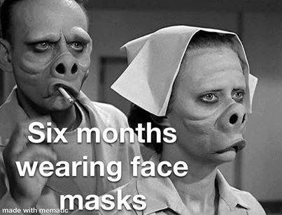 funny coronavirus meme, mask coronavirus meme