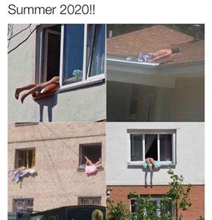 funny coronavirus meme, sun tan coronavirus meme, laying out coronavirus meme