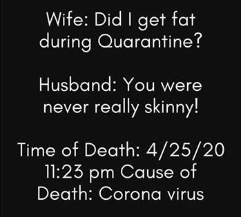 funny coronavirus meme, marriage coronavirus meme