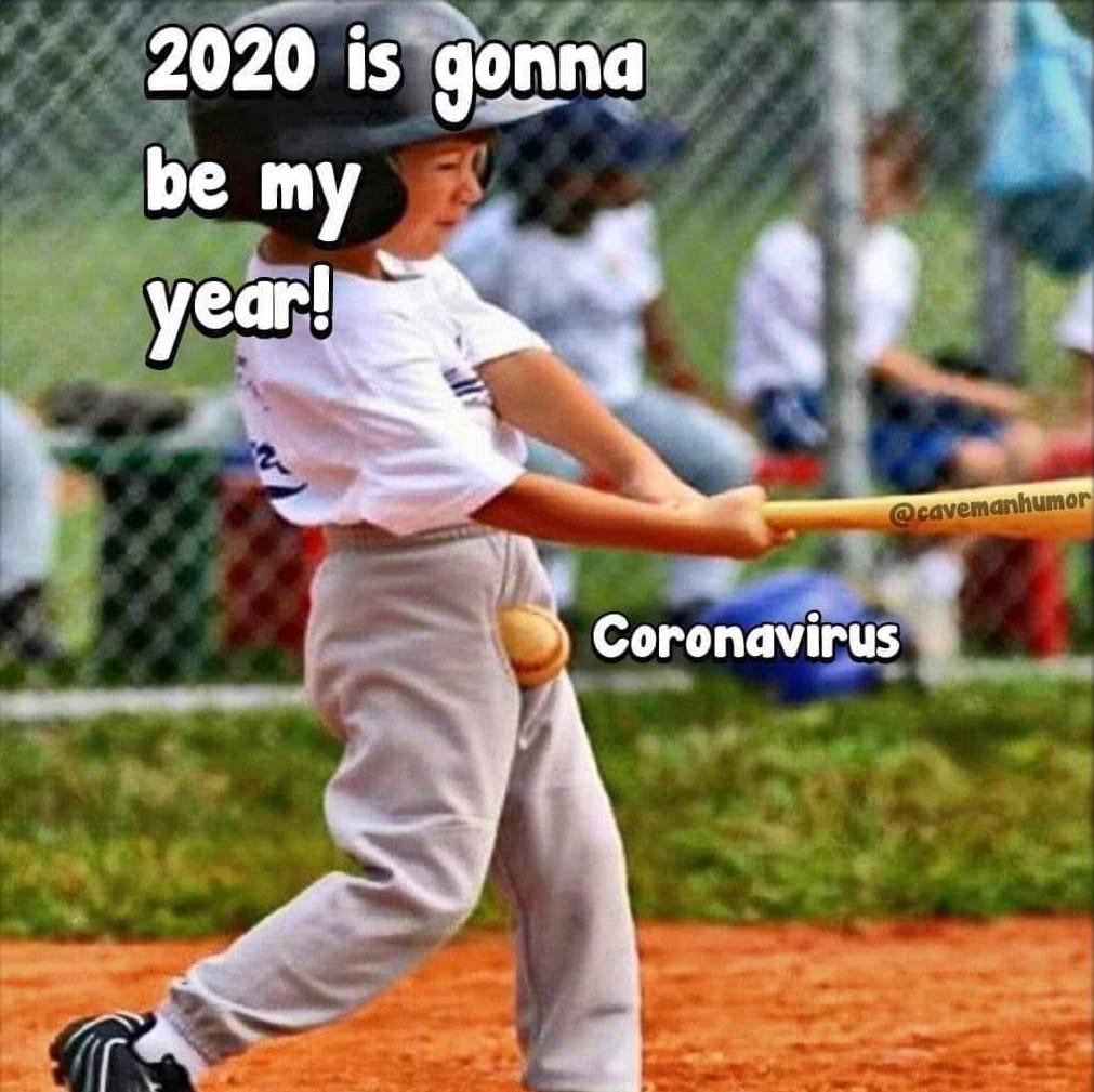 sports coronavirus meme, funny coronavirus meme, little league coronavirus meme, kid coronavirus meme